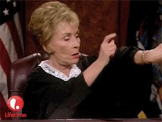 Judge Judy GIF by Lifetime Telly