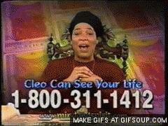 miss cleo infomercial GIF