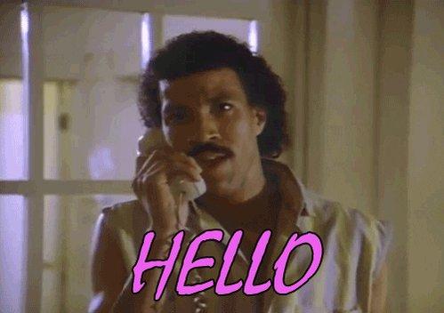 Lionel Richie Hello GIF