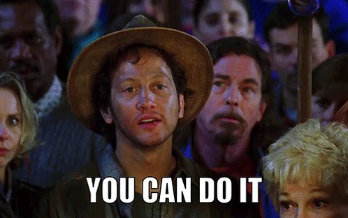 You Can Do It! Waterboy GIF