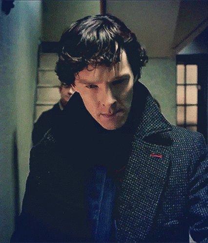 Sherlock Benedict Cumberbatch GIF