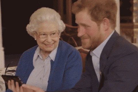 Prince Harry Mic Drop GIF