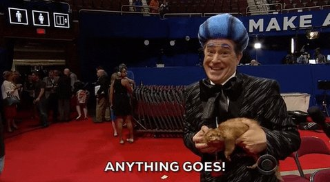 happy stephen colbert GIF by The Late Show With Stephen Colb