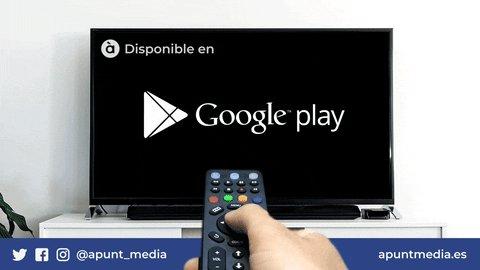 google play app GIF by À Punt Mèdia