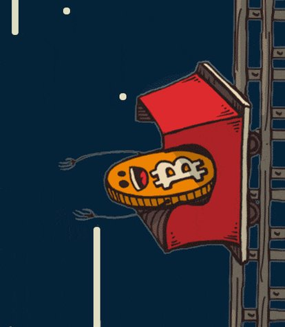 Bitcoin Hold GIF