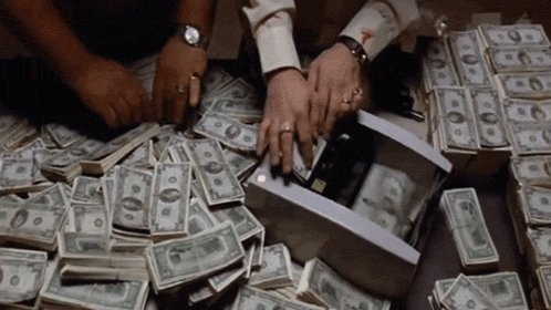 Pay Day Money GIF
