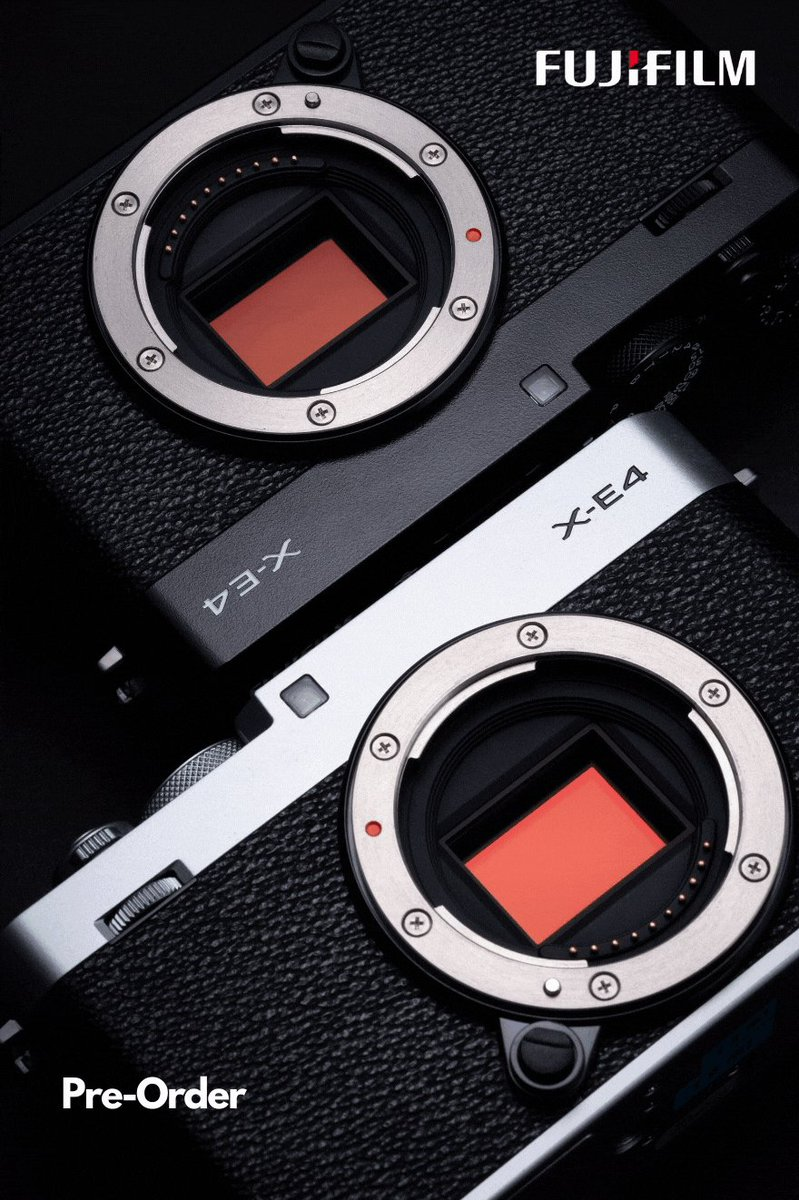 The Fujifilm X-E4 is a rangefinder-style mirrorless camera which brings the best of X Series products by combining them into a single camera, perfect for both stills and video.   Pre-Order Now! https://t.co/9At12numeI   @FujifilmX_AU #fujifilm #Promo #offers #photography https://t.co/fnoX6PKe4T