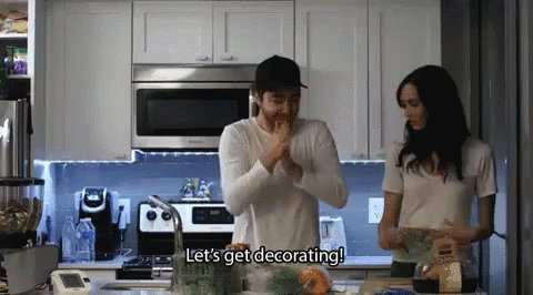 Let's Get Decorating! GIF