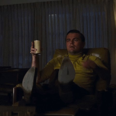 Leonardo Dicaprio Point GIF by Once Upon A Time In Hollywood