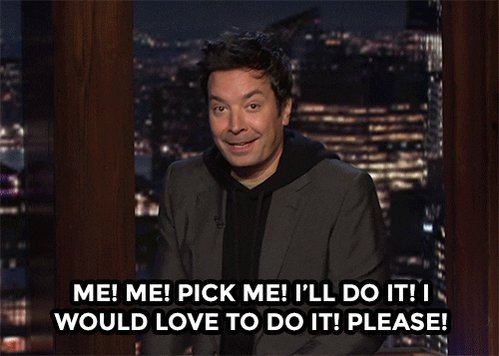 Pick Me Jimmy Fallon GIF by The Tonight Show Starring Jimmy