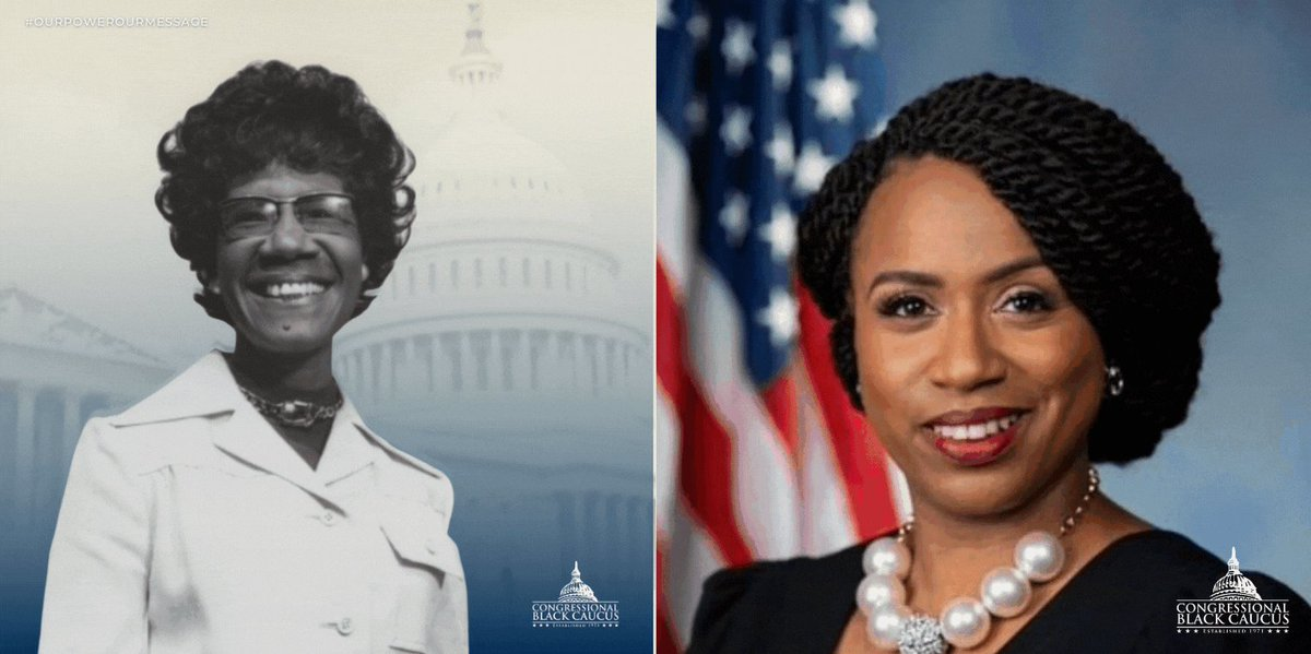 Today, March 8, 2021, is #InternationalWomen's Day!  Special thanks to the women Congressional Black Caucus Members!  how it started:               how it's going: