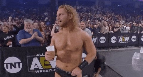 I got @theAdamPage on this one all day #AEWRevolution real cowboy shit!!!!