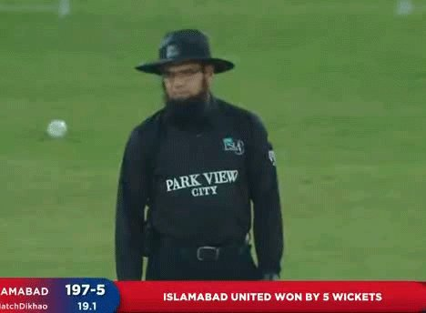 Aleem Dar Thug Life Moment at the End when they lost the review 🤣🤣🤣