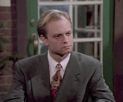 Replying to @AngryBlackLady: Frasier with no David Hyde Pierce? I think not.