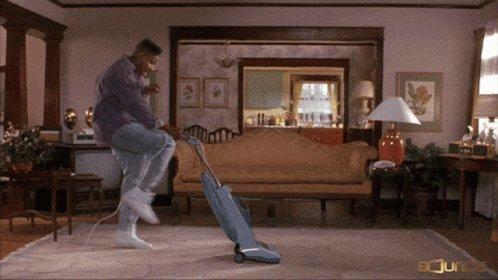 #MyPandemicFitnessRegimen keeping the house nice and clean.