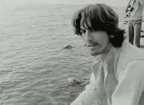 Replying to @marianabrickman: There, now you've been blessed by George Harrison   #HappyBirthdayGeorgeHarrison