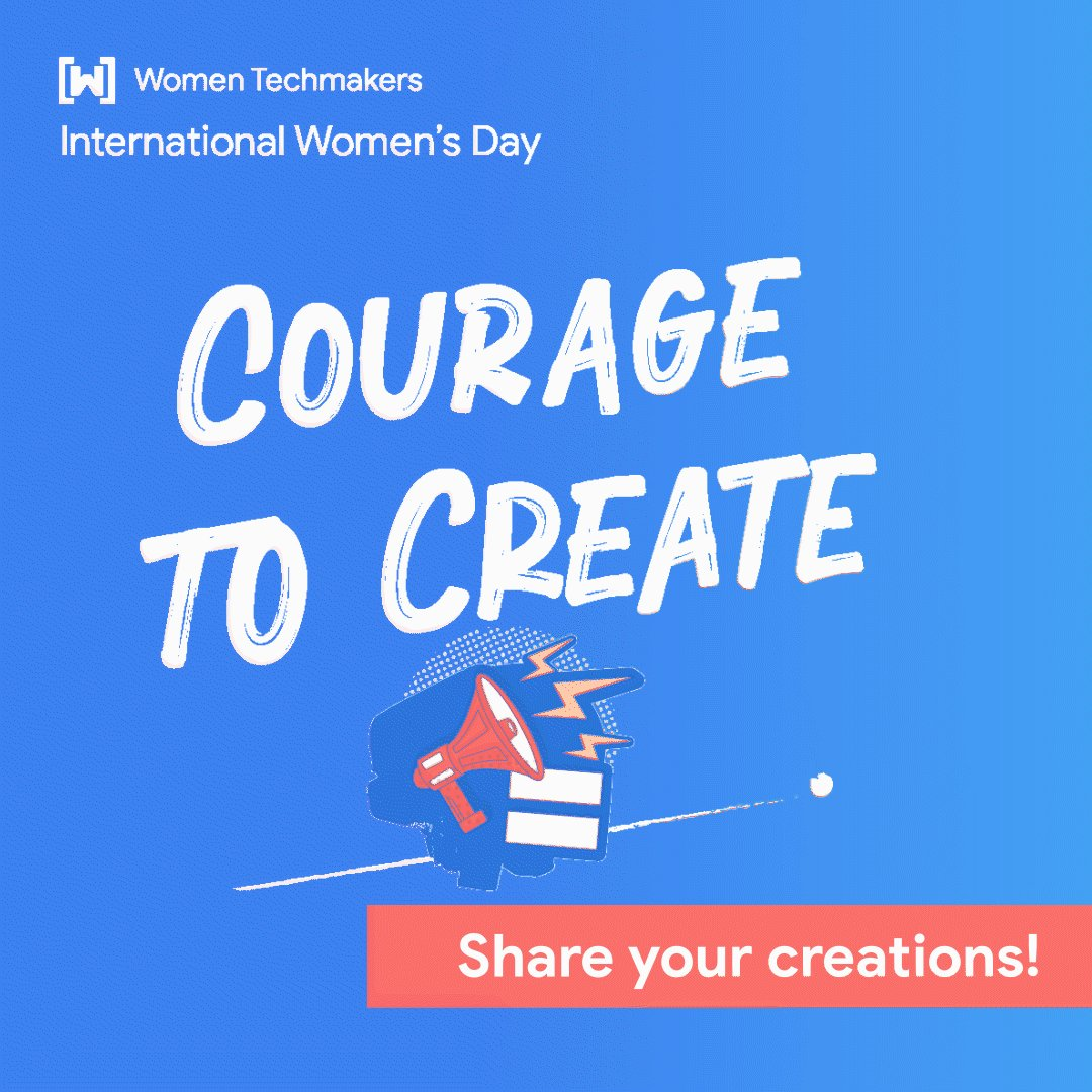 "👋🏿👋🏼👋🏽 Calling all tech makers, creatives, and pioneers: join our online community by sharing your proudest ""tech moment""  Use the hashtag #CourageToCreate to tell us about what you've been building  🤩 We're excited to see your creations and learn more about your impact!"
