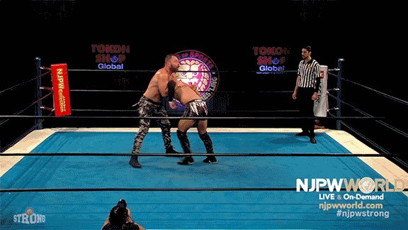 ".@JonMoxley ""Death Rider""  Replay ""NEW BEGINNING USA 2021"" (Feb 26th) ▶︎  #njpw #njpwworld #MOXvsKENTA #njpwSTRONG"