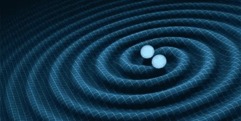 Another messenger we use to study the universe is gravitational waves. 〰️〰️ These are ripples in space-time that occur when massive objects are accelerated, like orbing black holes or neutron stars. 💫