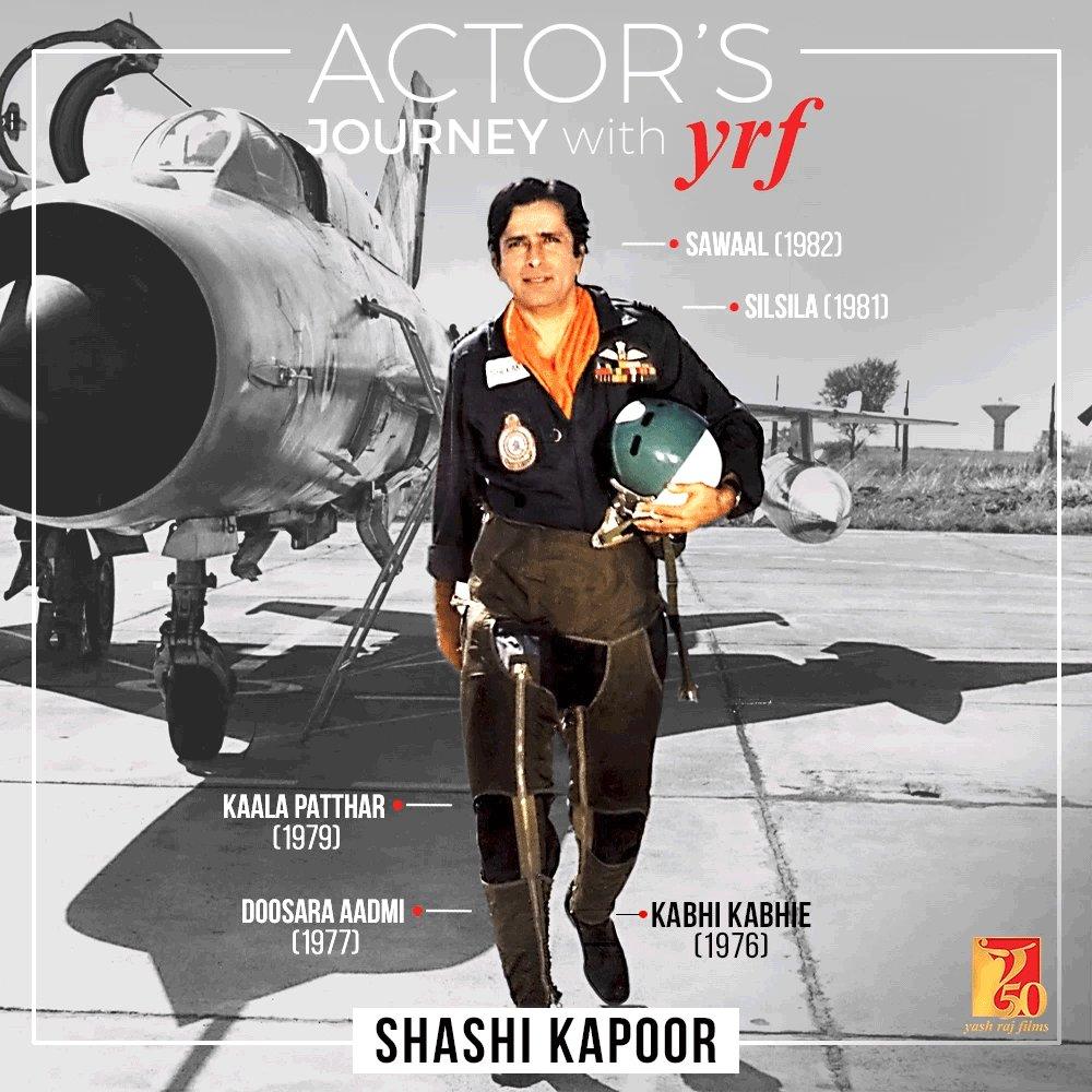 Each role = ICONIC. #ShashiKapoor | #YRF50