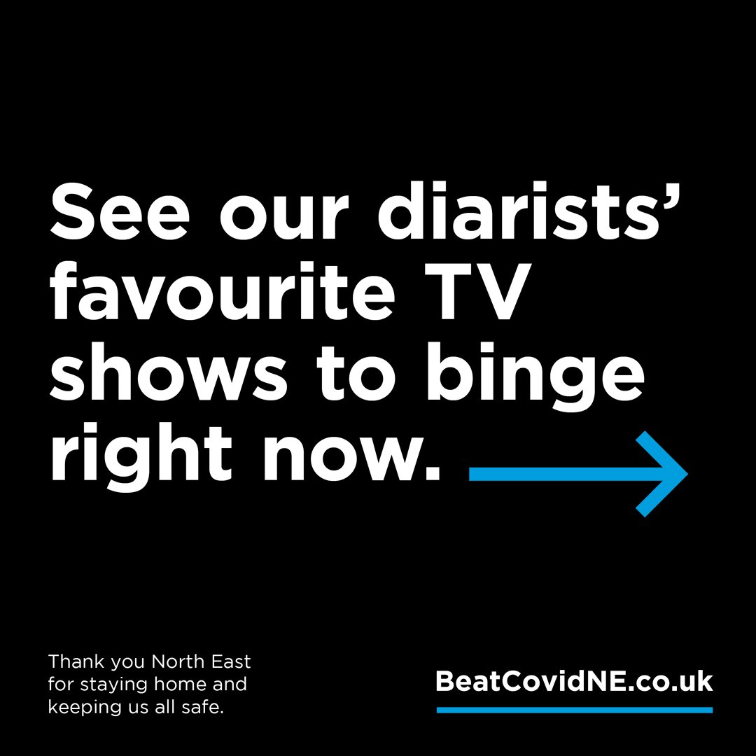 Struggling with what to watch over the weekend? Check out our #BeatCovidNE stars top binge-worthy TV series.👇Enjoy something new or (like many of us) delve into a classic - and not just Friends again! Find help and the latest information at 👉 orlo.uk/sFU4s