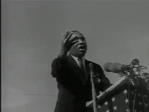 """'Injustice anywhere is a threat to justice everywhere."""" - #MLK❤️💛💚His ideas are as relevant today, as they were the day he expressed them. #BHM #unity  Find out a little-known 'fact' about his famous 'I Have A Dream' speech. Click Below ⬇️ ⬇️ ⬇️"""