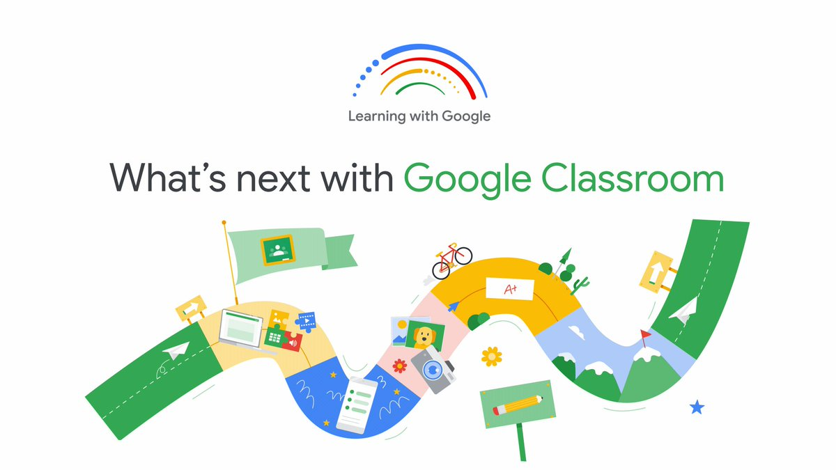 #DYK that @GoogleForEdu just announced their latest #GoogleClassroom features and updates at #LearningWithGoogle? Take a peek at some of the biggest launches and learn even more about what's new in the world of #GoogleEdu