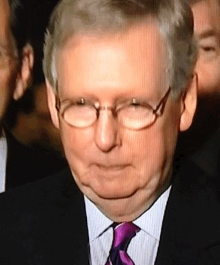 What is wrong with the #GOP? Do they not know the difference between right and wrong?  #McConnell said that #Trump was responsible for the deadly insurrection to overthrow the US Government, but if he was the #GOP nominee for President in 2024, he'd support him.    #CorruptGOP