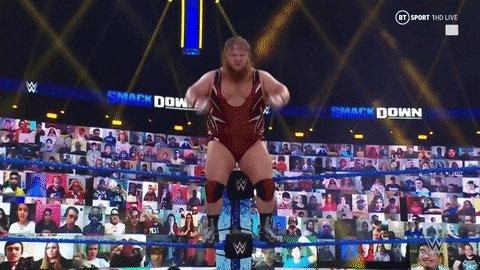 Powerful @otiswwe 😳  #SmackDown