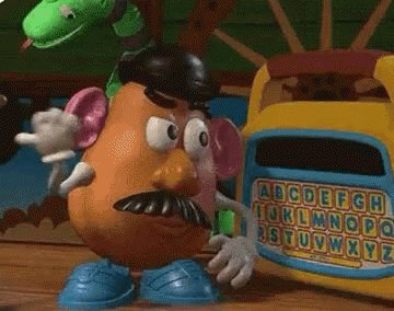 Block me if you want, but Mr. Potato Head is Mr. Potato Head. I literally don't care.