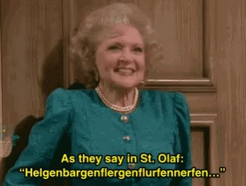 No, you almost missed your boarding call because you were watch #GoldenGirls on the airport TV