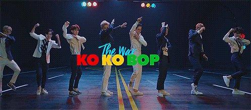 """Felicitaciones 🎉💃🥳  """"KO KO BOP"""" se convirtió en el tercer MV de EXO en alcanzar las 300 millones de visitas en youtube!! 🎉💃🥳  Lo logramos Exo-L ❤️ #EXOxKoKoBo300M  @weareoneEXO #EXO @Layzhang #LAY @B_hundred_hyun #CHANYEOL #BAEKHYUN #SEHUN #KAI #DO #CHEN #SUHO #XIUMIN"""