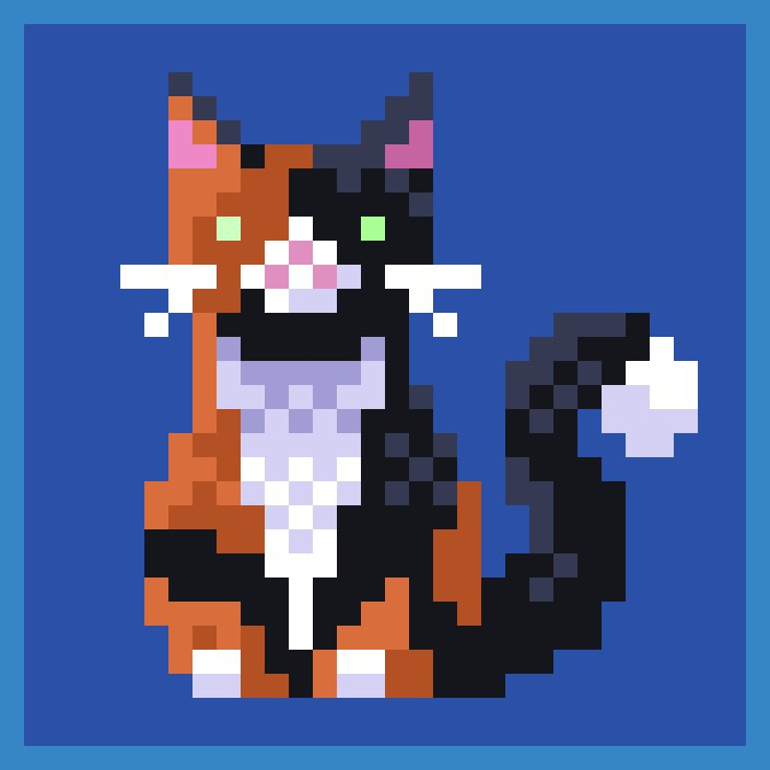 February Caturday Lottery tonight!!!💜🐱   Participate in more Caturdays for more entries and a better chance to win 🔥😁  If you need profile picture of your Pixel Cat NFT, let me know bellow💜  #nft #art #pixelart #pixelcats #caturday #giveaway #contest