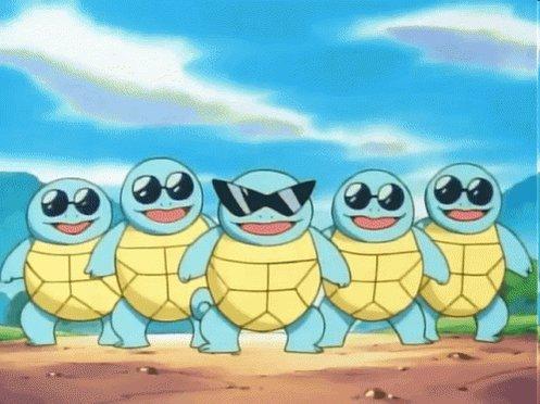Squirtle Squad #PokemonDay
