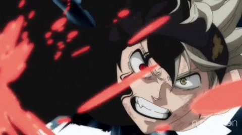 Asta ready for his time on #Toonami #BlackClover is NOW