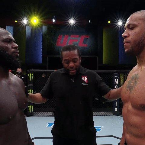 ufc: Here we go! The heavyweight elite are on display 🇫🇷🇸🇷  [ #UFCVegas20 | LIVE on #ESPNPlus ]
