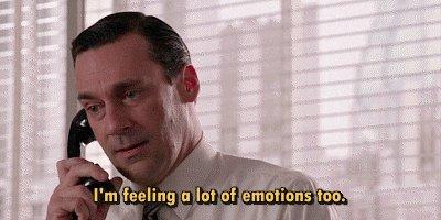 Because we have feelings.. #WhyMenNeverListenIn4Words