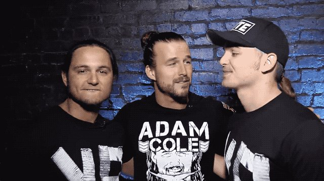 Been in an Adam Cole mood lately forrr... idk Reasons, so I thought it would be nice to go back to some older stuff with him and the Bucks that I haven't seen much of yet.