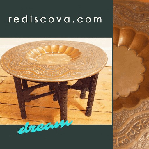 This #Moroccan #tea# table is such a stunning centre piece in a #room, The #colour & the contrasts perfect for that #eclectic look #home #interiors  For more information follow the link below
