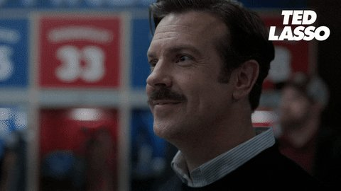 Replying to @PatMcAfeeShow: Ted Lasso just won an award.. all is right in the world