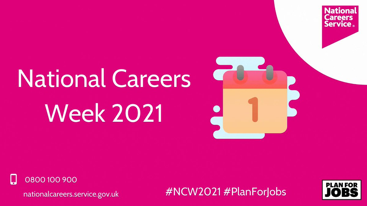 Image for the Tweet beginning: It's National Careers Week! Throughout