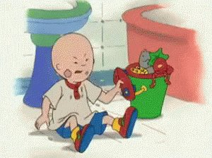 #CancelACartoonCharacter  CAILLOU. Whiny little BRAT won't grow up because he doesn't want to. https://t.co/uzWObs22hA