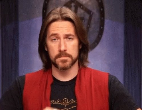 """Rewatching last week's #Criticalrole I feel like Matt as Yeza Brenatto and how he interprets Veth and responding to her comes from a place of having a very strong wife in Marisha and using that part of him as this man's whole """"I Love My Wife"""" life. And it's just very sweet."""