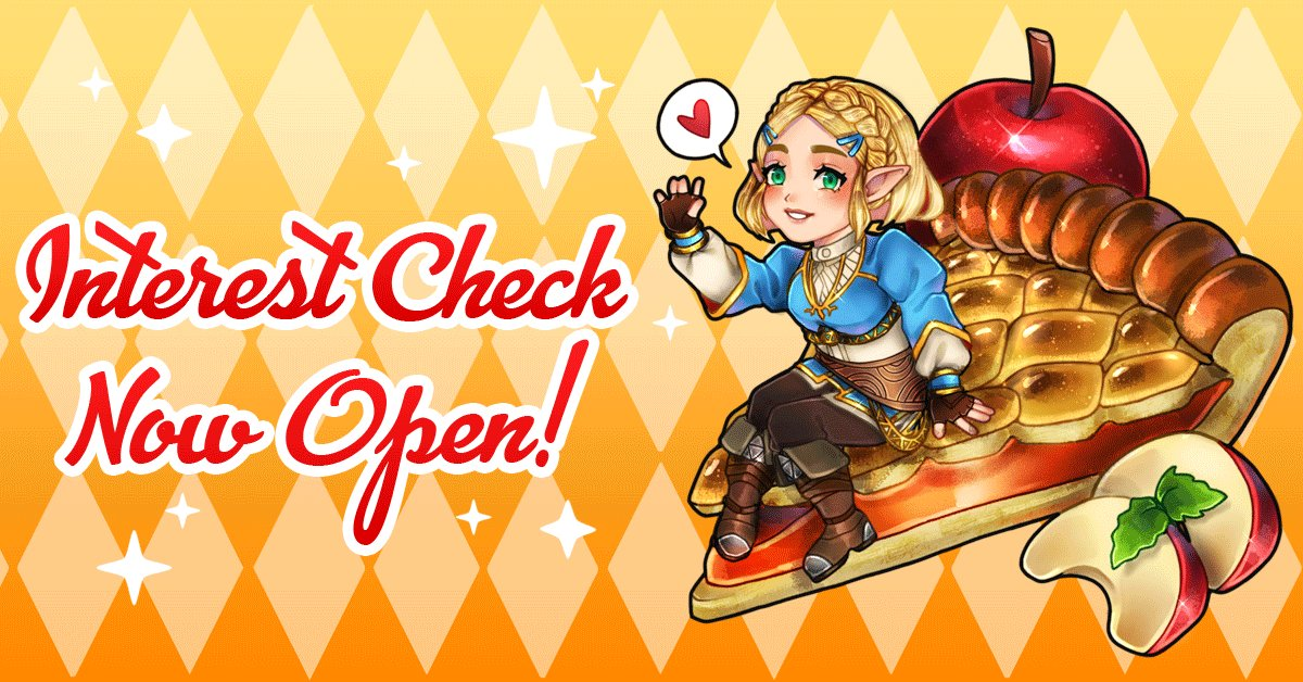 ✨INTEREST CHECK IS LIVE!✨ Please follow the link below to fill out your form. We will keep the form open from now until March 15th, so be sure to share with your friends and tell us your thoughts!💞forms.gle/nq6VUhWFykJ17w…