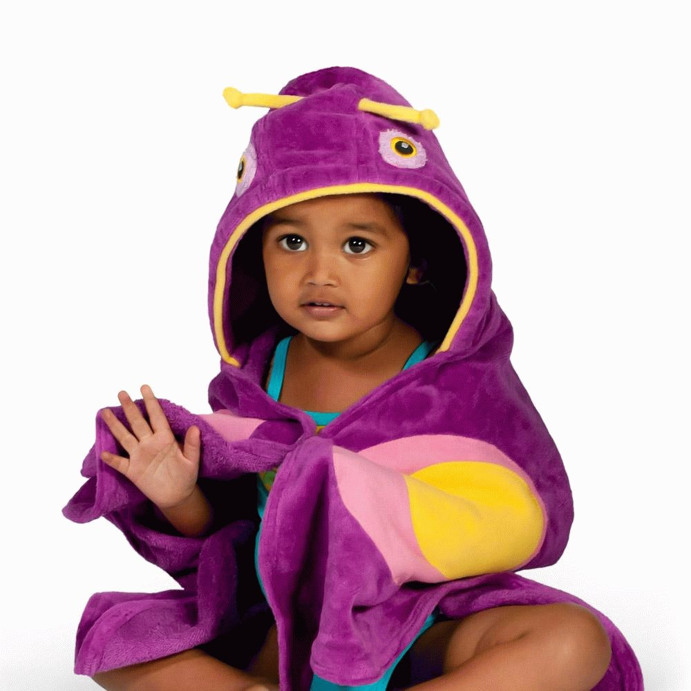😍 Butterfly Towel 😍 by Magenta Ash price starting from $41.75.  #baby #toddler #momlife Get it now! 👉👉