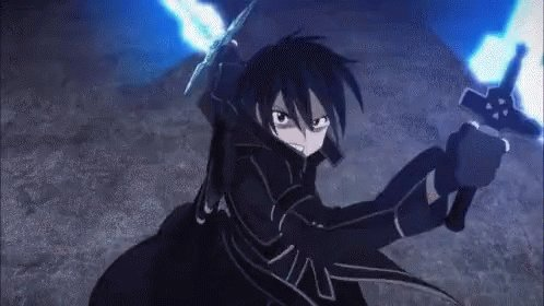Think I found my next animated TV show. Sword Art Online. 🔥 #SwordArtOnline #TV #Manga