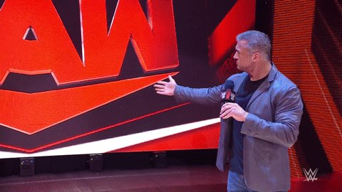 Replying to @WWE: As per @shanemcmahon, this is #WWETitle Match is now a LUMBERJACK MATCH!  #WWERaw @mikethemiz @fightbobby