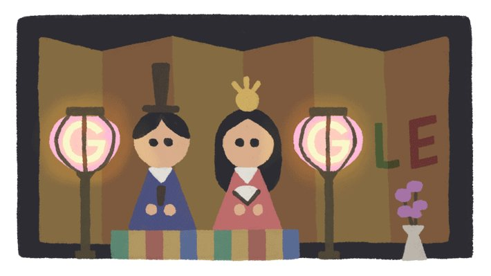 Happy Hinamatsuri, Japan! 🇯🇵🗾  Be on the lookout for displays of ceramic dolls dressed in Heian Period magnificence like those in the Girls' Day #GoogleDoodle artwork 🎎 They symbolize wishes of happiness & health for all girls & women! →