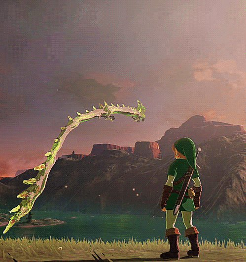 """its been 4 years since breath of the wild's release and no game has matched the sheer moment of """"holy shit wow"""" I had when I first saw one of these dudes https://t.co/gP3o1YnloO"""