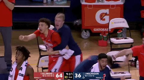 Me to March Madness AND baseball season. https://t.co/0pTIA3kUjc